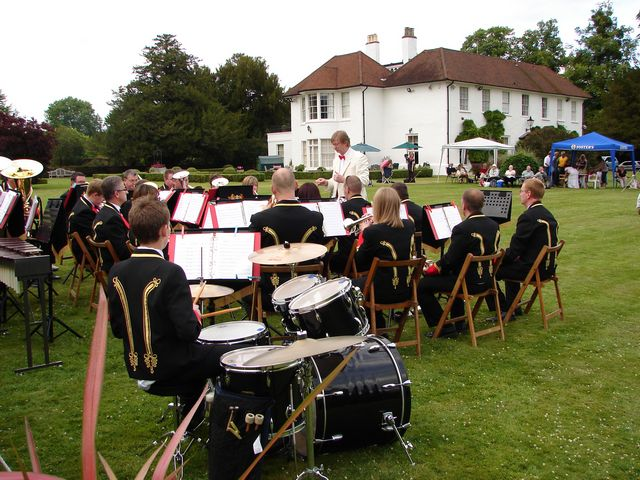 marvelous marlow manor #3: Come and be entertained on Saturday 4th June in the delightful grounds of  Little Marlow Manor. Bring a picnic, listen to the music, explore the  beautiful ...