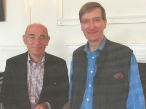 Dominic Grieve MP with Paddy Gallaugher who organised the Men's Breakfast on behalf of Churches Together in Marlow